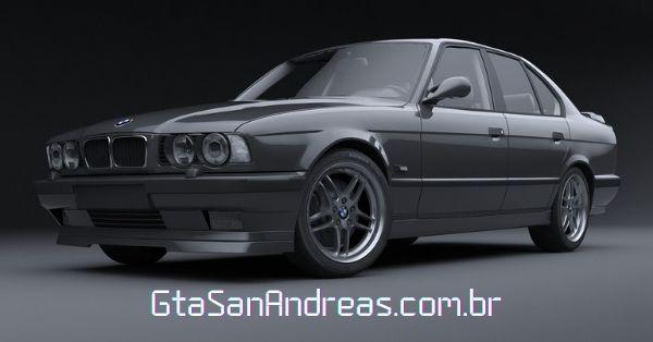Modelo BMW E34 que parece com o Sentinel